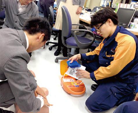 AED操作訓練